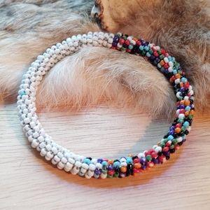 Vintage native bead bracelet